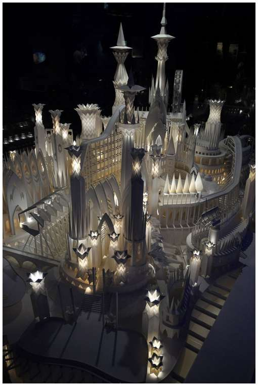 Amazing-Paper-Craft-Castle-On-the-Ocean-7