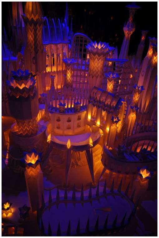 Amazing-Paper-Craft-Castle-On-the-Ocean-8
