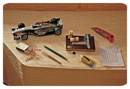 F1-Car-From-Matchsticks-1
