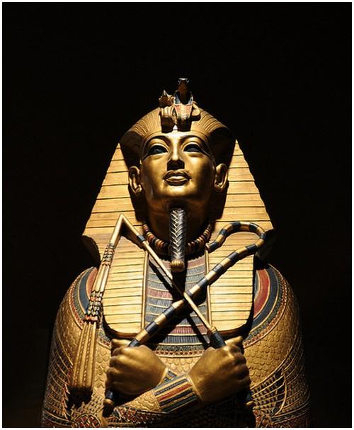 MATTER OF LIFE  Pharaoh Tutankhamun Mummy