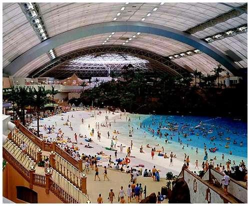 Worlds biggest indoor swimming pool - Indoor swimming pool temperature regulations ...