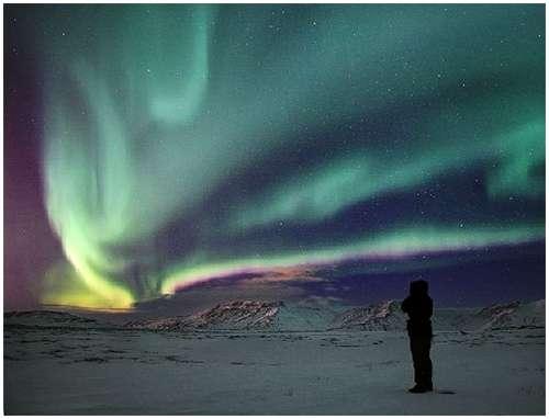 -冰岛极光摄影