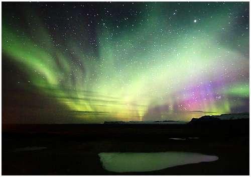 冰岛极光摄影