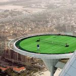 Dubai crazy tennis