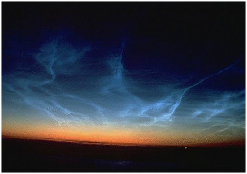 Noctilucent-Clouds