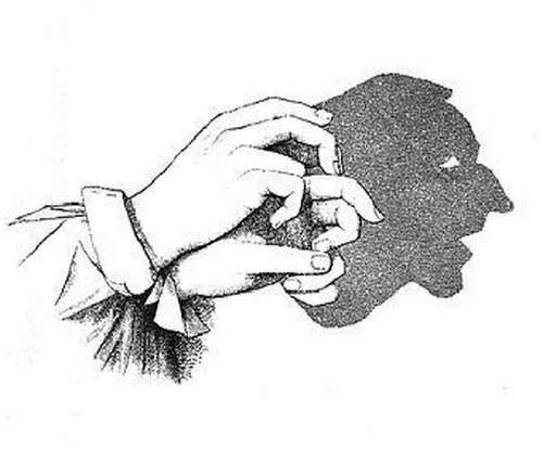 Как сделать людей в тени