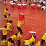 Tomato Fight in China