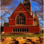 Beautiful canteen of Harvard University
