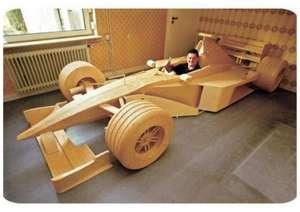 F1-Car-From-Matchsticks