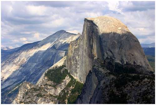 half-dome-yosemite-color
