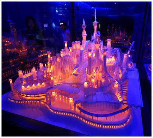 Amazing-Paper-Craft-Castle-On-the-Ocean-2