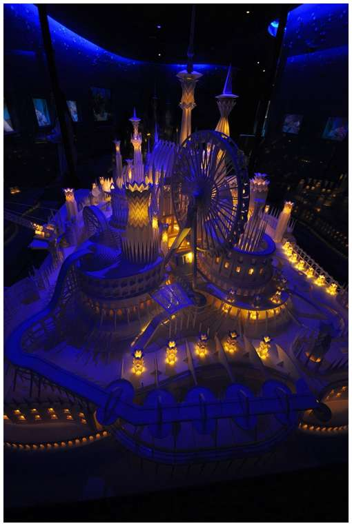 Amazing-Paper-Craft-Castle-On-the-Ocean-9