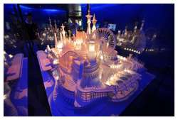 Amazing-Paper-Craft-Castle-On-the-Ocean