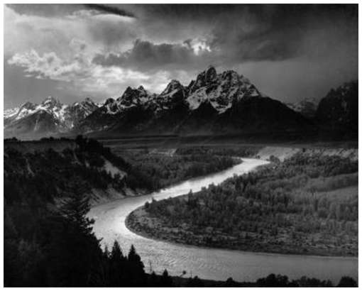 the-tetons-snake-river-ansel-adams