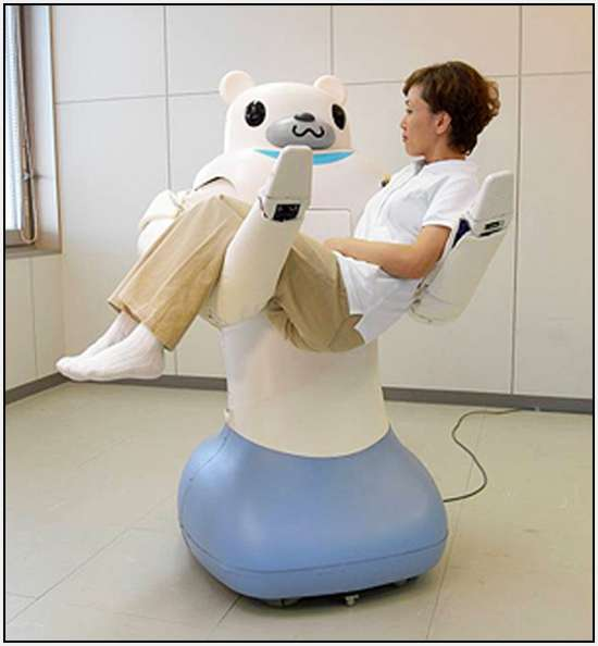 Robotic-Bear-Helps-Nurses-Carry-Patients-1