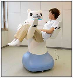 Robotic-Bear-Helps-Nurses-Carry-Patients