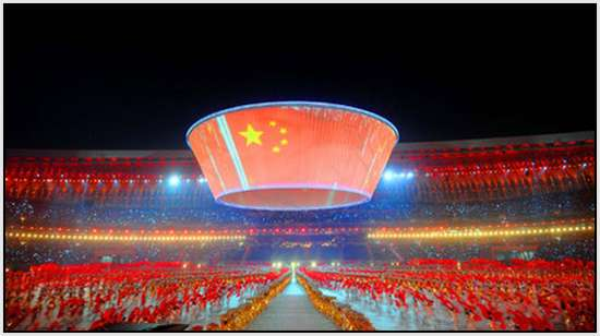 Opening-ceremony-of-11th-Chinese-National-Games-in-Jinan-3