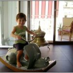 Workhorse Vespa Rocking Horse
