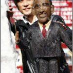 Hair Made Sculpture of Barack Obama