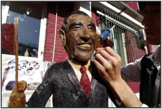 Hair-Made-Sculpture-of-Barack-Obama-8