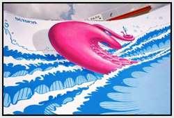 Octopus-Skate-Pool-Art