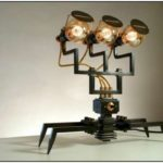 Machine Light Designed by Frank Buchwald