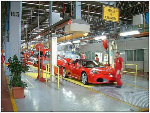 Ferrari-Production-Factory-in-Maranello-33