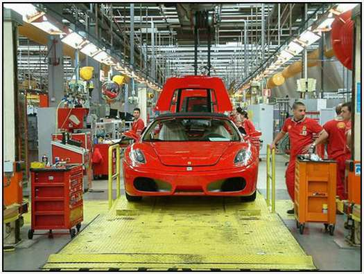 Ferrari-Production-Factory-in-Maranello-34