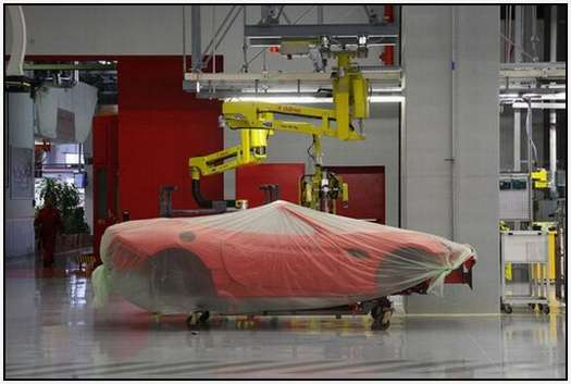 Ferrari-Production-Factory-in-Maranello-9