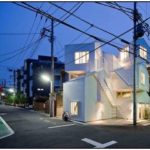Entertaining and Unusual Family House Built in Tokyo
