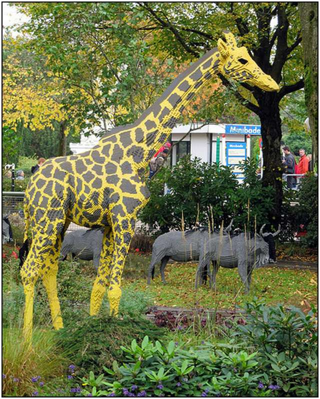Bronx Zoo Opens Kid-Friendly Safari With Lego Animals