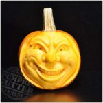 Sculptures Made by Carving Pumpkins