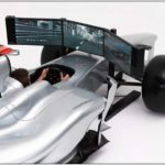 Full Size Formula 1 Racing Car Simulator by FMCG