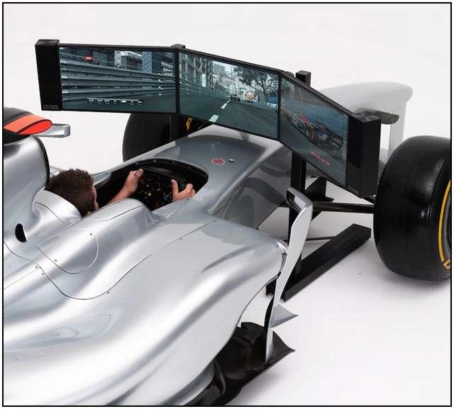 Full Size Formula 1 Racing Car Simulator by FMCG