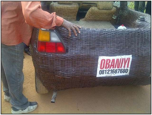Car-Inside-and-Outside-From-Woven-Raffia-Palm-Cane-4
