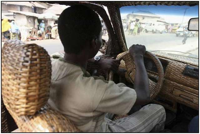 Car-Inside-and-Outside-From-Woven-Raffia-Palm-Cane-5